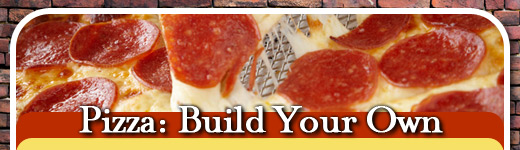 PIZZA: BUILD YOUR OWN image